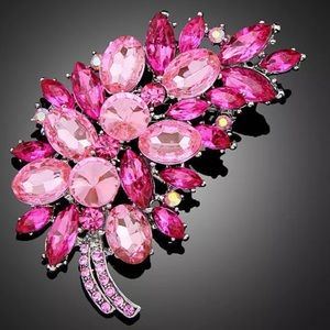 "www.crownedinroyalty.com Jewelry - ""Pink Boss"" Sophisticated Brooch"